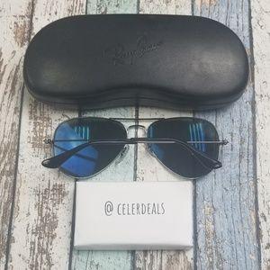 Ray-Ban Accessories - CUSTOM! Ray Ban RB3025 Polarized Sunglasses/VIL839